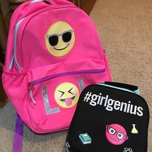 Other - lol backpack with lunchbox